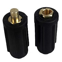 Conector Engate Rápido Encaixe 12,7mm Macho/Fêmea 500A - CG 500