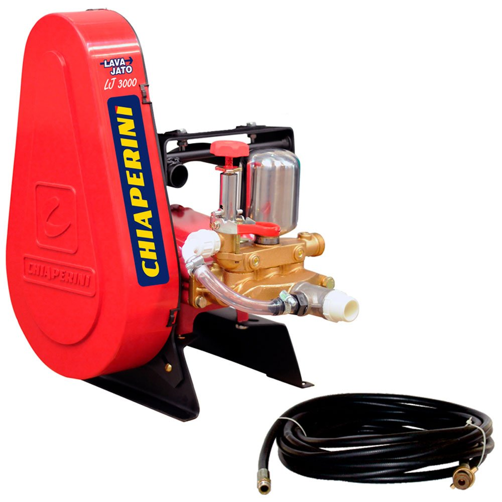 Lavadora Industrial de Alta Pressão 300lbf/pol Lava Jato LJ 3000 Fixa sem Motor