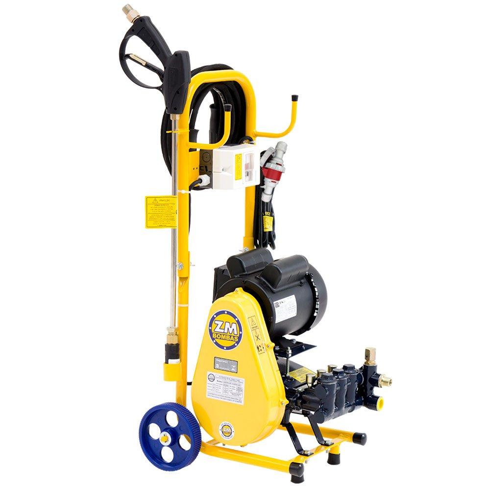 Lavadora Industrial de Alta Pressão Motor WEG 1,5 CV 15 Litros/Min. 500 Libras 380V Trifásico