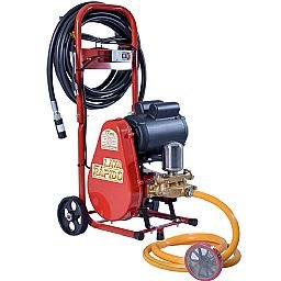 Lavadora de Alta Pressão Motor WEG 2.0 CV 28Litros/Min 300 LIbras 220V Com Carrinho