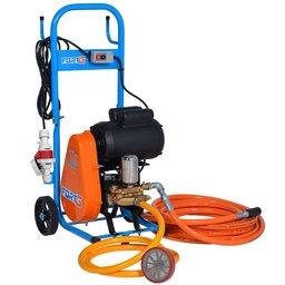 Lavadora de Alta Pressão Motor WEG 3CV 450 Libras 28L/min Trifásico 220/380V com Carrinho