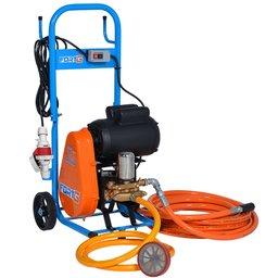 Lavadora de Alta Pressão Motor Weg 2CV 450 Libras 20L/min Trifásico 220/380V com Carrinho