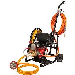 Lavadora Lava Rápido LRS 350 2CV 350 Libras 110-220V Monofásico com Carrinho, Mangueira 10m e Partida Elétrica