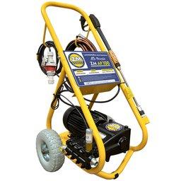 Lavadora Alta Pressão Motor WEG 5.0CV AP100 20L/min Trifásico 380V com Carrinho