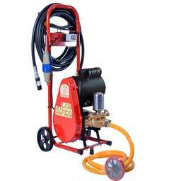 Lavadora de Alta Pressão Motor Nova 2.0CV 450 Libras 20L/min Mono 110V com Carrinho