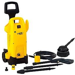 Kit Lavadora de Alta Pressão Turbo Power LAVOR B8.042.060 1740 Libras 1600W 110V + Escova Giratória LAVOR B60090007