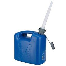 Galão de Polietileno Azul para Água 10 Litros com Extensão