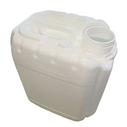 Galão de Polietileno Branco para Gasolina com 5 Litros