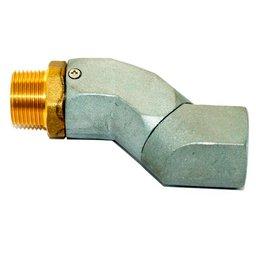 Conexão Giratória Tipo Z 3/4 Pol. para Bico de Abastecimento
