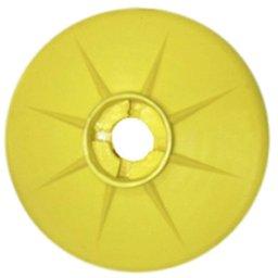 Protetor Antirrespingo Amarelo para Bicos de Abastecimento de 1/2 e 3/4 Pol.