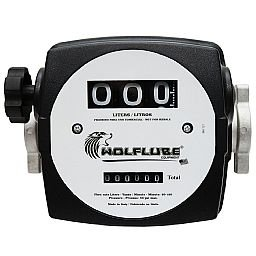 Medidor Mecânico 10 a 120 L/Min. de 3 Dígitos para Óleo Diesel