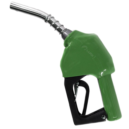 Bico Automático para Abastecimento Verde 75L/min com Ponteira 1/2 Pol.