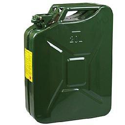 Galão de Metal para Gasolina 20L