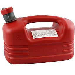 Galão de Polietileno Vermelho de 5 Litros
