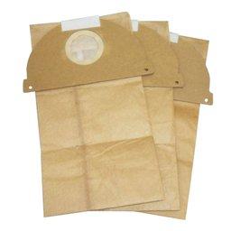 Kit Filtro de Papel para Aspirador com 3 Unidades Descartáveis