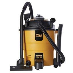 Aspirador de Água/Pó e Soprador 1600W  55 Litros