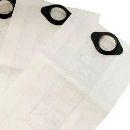 Kit Sacos Descartáveis para Aspirador de Pó 22L com 3 Unidades