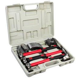 Kit Chapeador para Reparo Automotivo com 7 Peças
