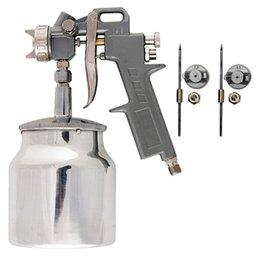 Pistola Pneumática para Pintura com Tanque Baixo 750ml
