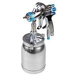Pistola para Pintura por Sucção com Caneca em Alumínio 1000 ml e Bico 1.8 mm