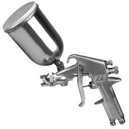 Pistola para Pintura por Gravidade com Caneca em Alumínio 350 ml e Bico 1,5 mm