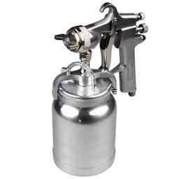Pistola para Pintura de Alta Pressão com Caneca em Alumínio 1000 ml e Bico 1,8 mm