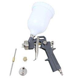 Kit Pistola de Pintura 600ml com 2 Jogos de Reparo e Bico 1.4mm