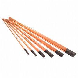 Eletrodo de Carvão 3/8 x 12 Pol. com 50 Unidades