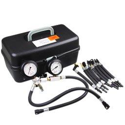 Manômetro para Testes de Vazão e Pressão de Bomba de Combustível para Moto