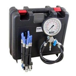 Teste de Pressão de Bomba de Combustível Manômetro de Aço Inox e 13 Mang. para Auto
