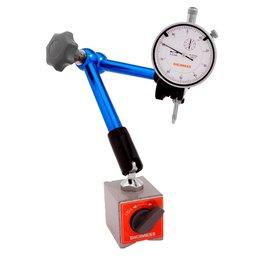 Suporte Magnético Articulado para Relógios Comparadores e Apalpadores