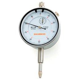 Relógio Comparador 0 a 10mm de 0,01mm com Graduação