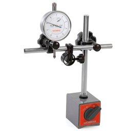Suporte Magnético para Relógios Comparadores e Apalpadores com Ajuste Fino