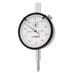 Relógio Comparador 0 a 10mm em Alumínio com Graduação de 0,01mm
