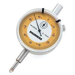Relógio Comparador 0 a 10mm com Graduação de 0,01mm