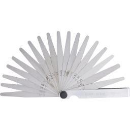Cálibre de folga 0,05 mm a 1 mm 20 lâminas CF 020 VONDER