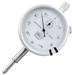 Relógio Comparador com Ótima Precisão em Aço 0,01 mm