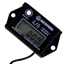 Horímetro / Tacômetro Digital para Motores a Gasolina
