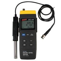 Decibelímetro - Medidor de Nível de Pressão Sonora Digital