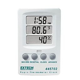 Relógio Digital com Higrotermômetro