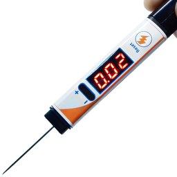 Caneta Voltímetro 0 a 50 V com Iluminação, Função Voltímetro e Tempo de Injeção