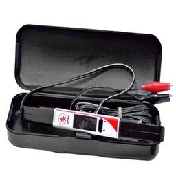 Caneta Teste de Polaridade 12/24V com Voltímetro, Iluminação e Tempo de Injeção