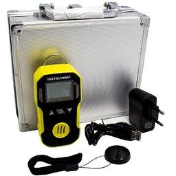 Detector de Gases à Bateria Li-on DC3.7V 1500mAh para Oxigênio com Carregador e Maleta