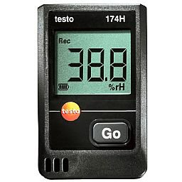 Kit Termômetro 174 H Mini Data Logger para Temperatura e Umidade