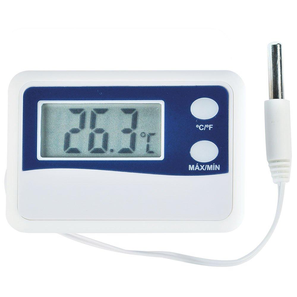 Termômetro Digital  Mínima e Máxima -50 + 70 Graus com Sensor Externo e Cabo 50cm