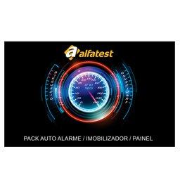 Cartão de Liberação Pack Alarme/Imobilizador/Painel para Scanner Kaptor V3 Powertrain