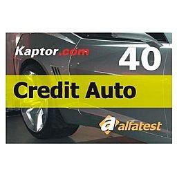 Cartão Credit Auto 40 para Scanner