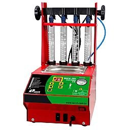 Máquina para Limpeza de Bico Race Jet Interlagos GDI Ultrassom Teste de Injetores GDI e Convencionais Cuba 1L
