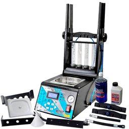 Maquina de Teste e Limpeza de Injetores/GDI, Teste de Atuadores, Corpo de Borboleta Eletrônico com Cuba de 1 Litro