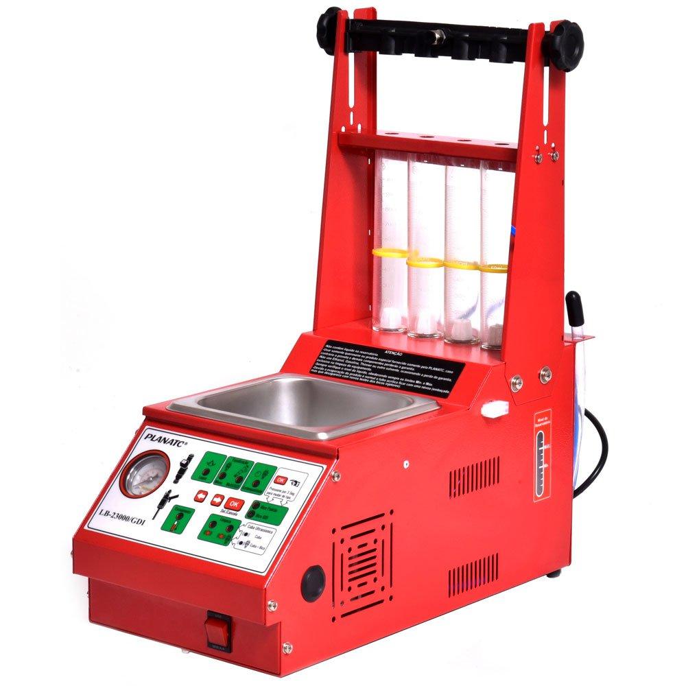Máquina de Teste/Limpeza de Bico Padrão/GDI Injeção Direta + Acessórios GDI + Cuba 1L